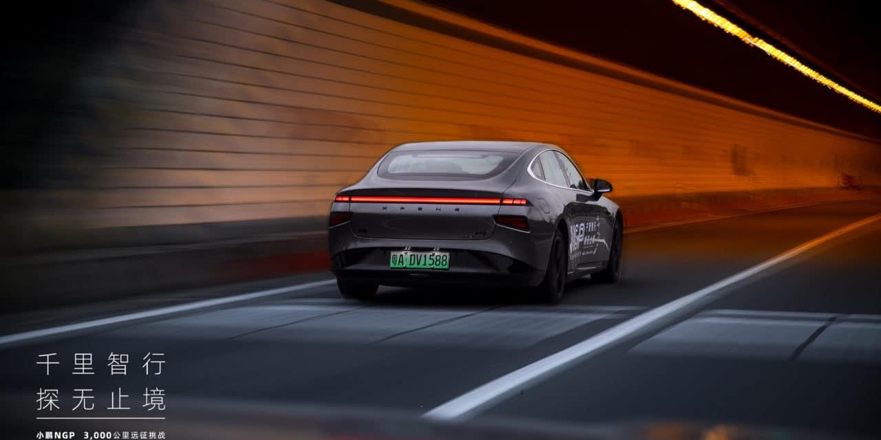 XPeng Sets New Records for Autonomous Driving