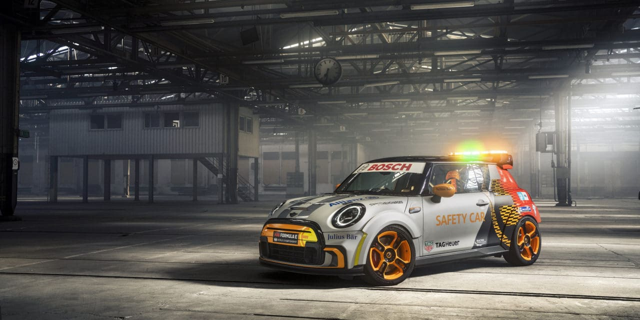 The MINI Electric Pacesetter Inspired by JCW