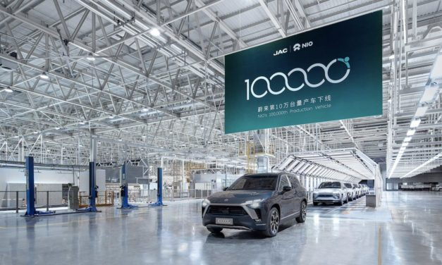 100,000th NIO Vehicle Rolls off the Production Line
