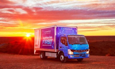 Battery-Electric FUSO eCanter Launched Down Under