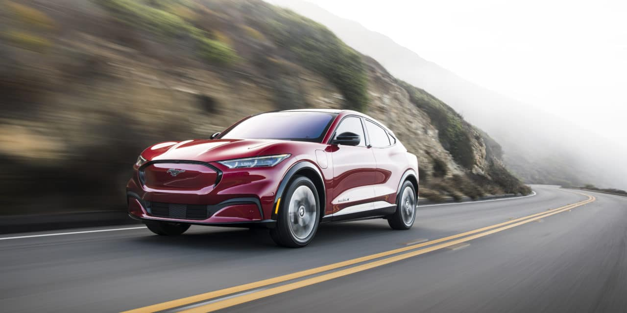 Mustang Mach-E Earns TOP SAFETY PICK from IIHS