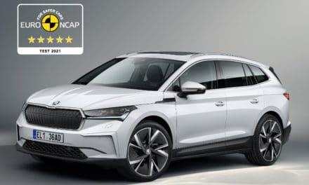 ŠKODA ENYAQ iV Earns Five Stars in Euro NCAP Test