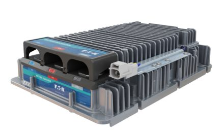 Eaton to Supply DC-DC Converters for New Full Battery Electric Semi-Truck