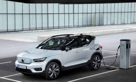 Volvo XC40 Recharge with Veoneer Technologies Earns Top Safety Pick+