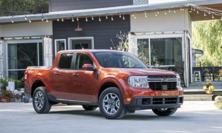 Ford Unveils Maverick Hybrid Pick-Up Truck