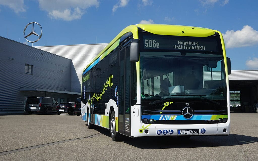 One year, two eCitaro buses and 200,000 kilometers