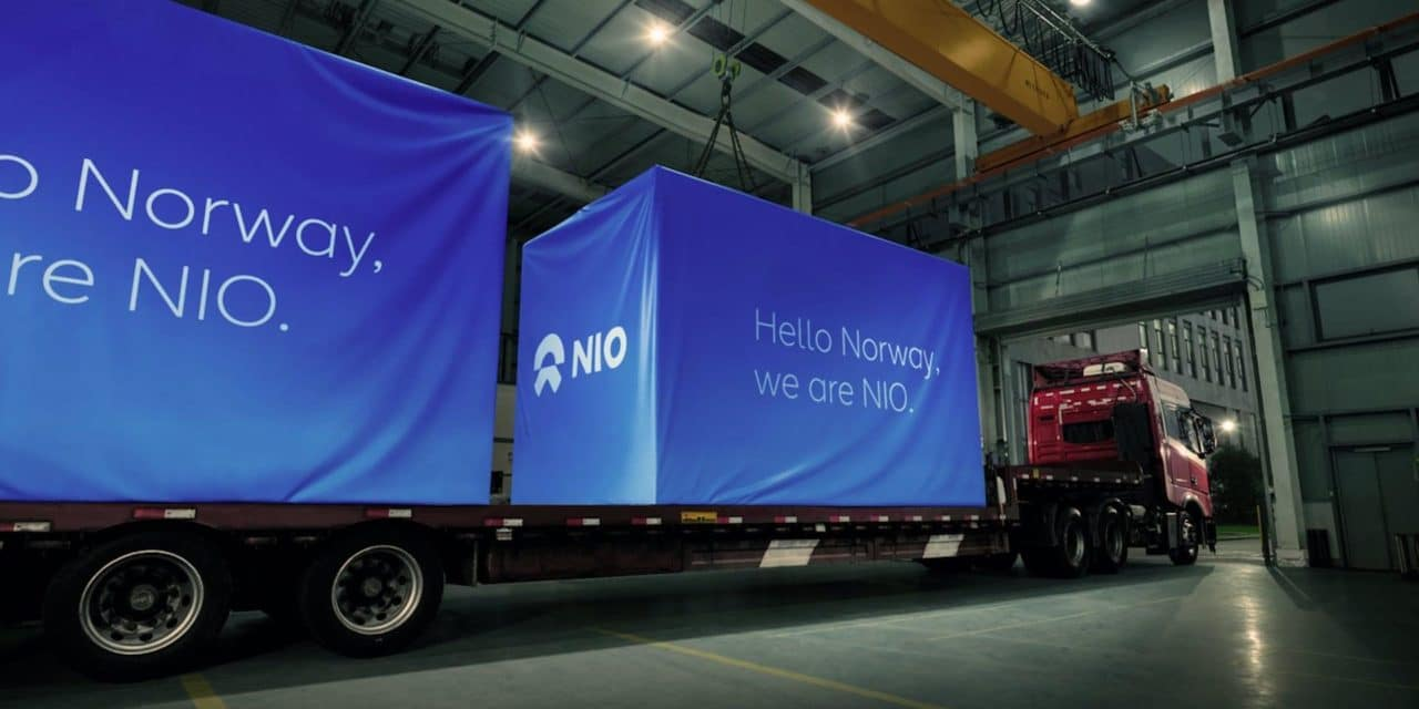 NIO Power Swap and Charging Equipment Acquired CE & TÜV Certifications and Departed for Norway