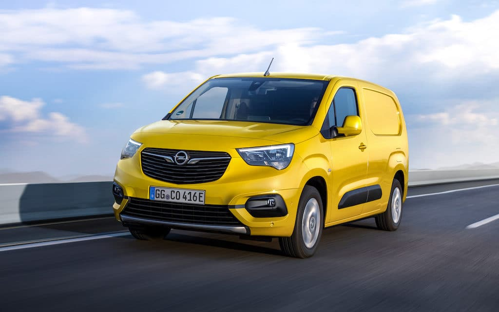New Opel Combo-e Cargo Now Available to Order