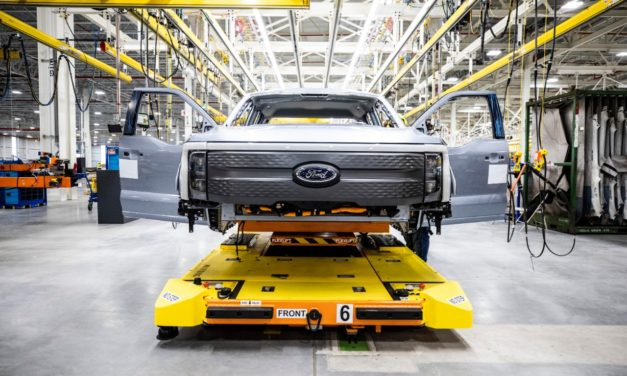 Ford Begins Pre-Production Of All-Electric F-150 Lightning Truck