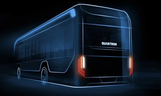 QUANTRON launches electric 12-meter bus