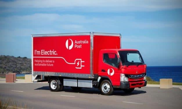 Mitsubishi Fuso to deliver 20 eCanter trucks to Australia Post