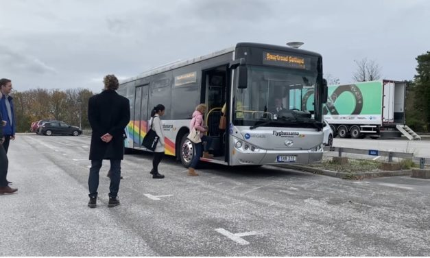 ElectReon and Gotland Partners Announce First Fully Operational Electric Bus Utilizing Wireless Electric Road System in Sweden